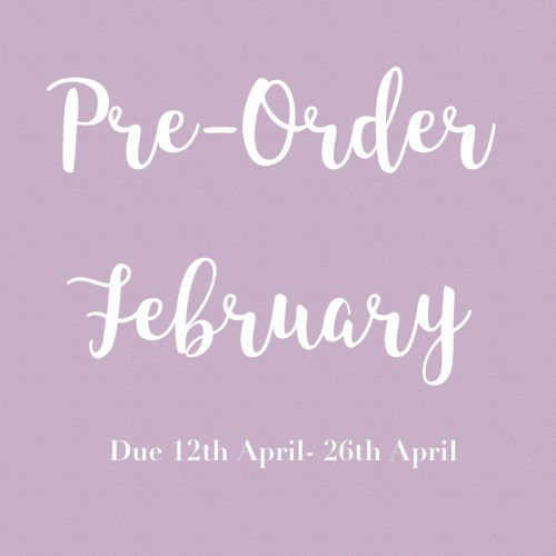 February Pre-Orders